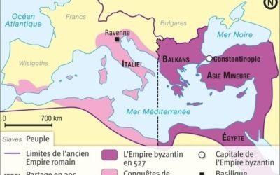 Chapitre 1 – Les Empires byzantin et carolingien : deux empires chrétiens